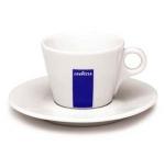 Teetasse mit Unterteller BLUE